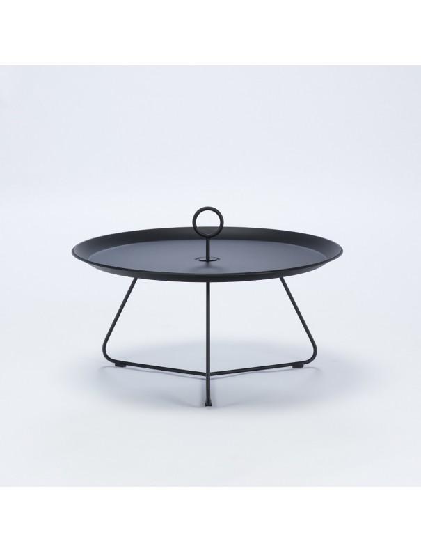 Table d'appoint EYELET noir - diam 70cm