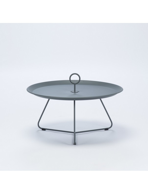 Table d'appoint EYELET gris - diam 70cm