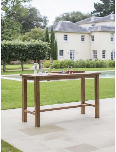 Table bar teck 180cm