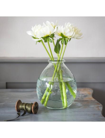 Vase verre recyclé large