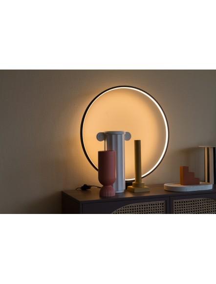 LAMPE A POSER RONDE NOIRE