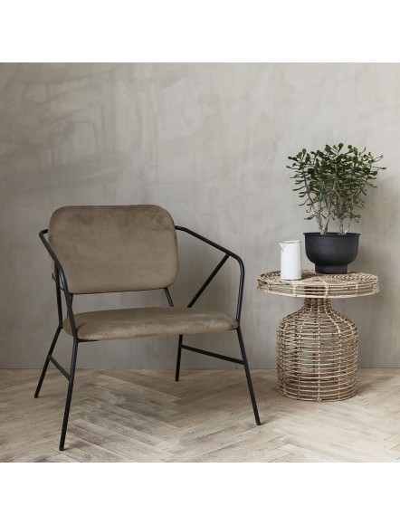 Fauteuil lounge Stella