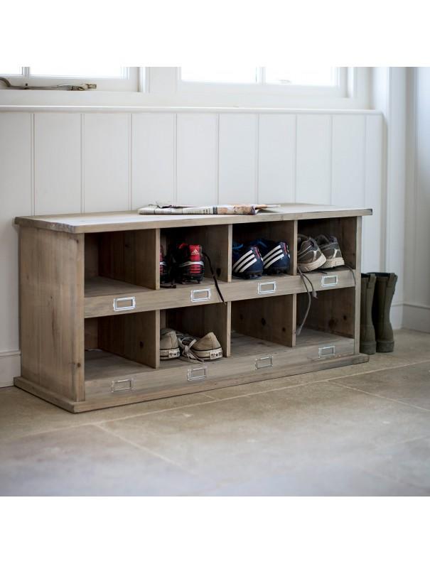 Meuble rangement chaussures - 8...