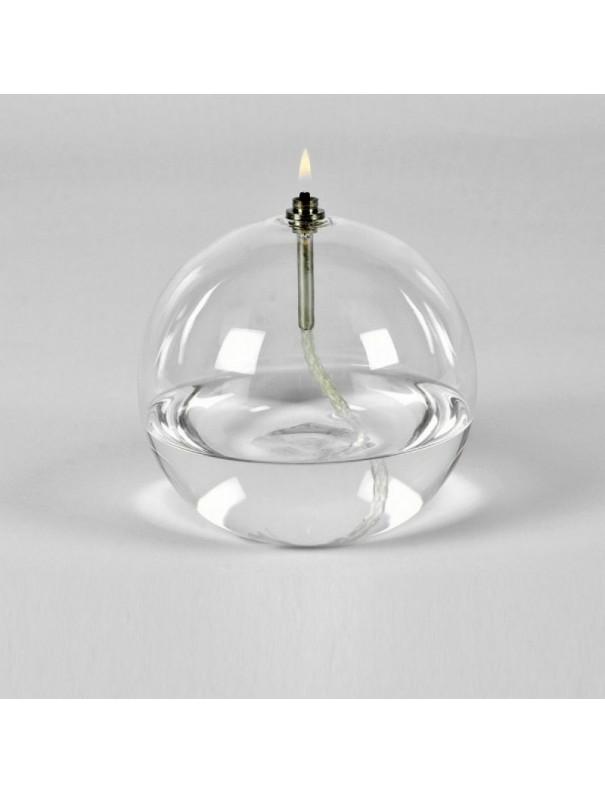Lampe à huile sphère - Hauteur 11 cm