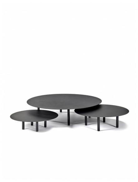 TABLE BASSE RONDE METAL...