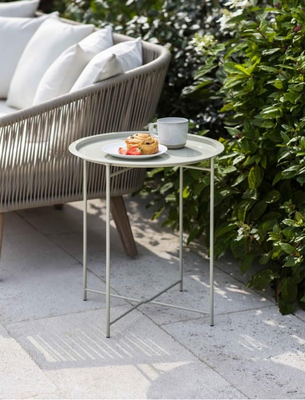TABLE D'APPOINT PLIABLE ARGILE