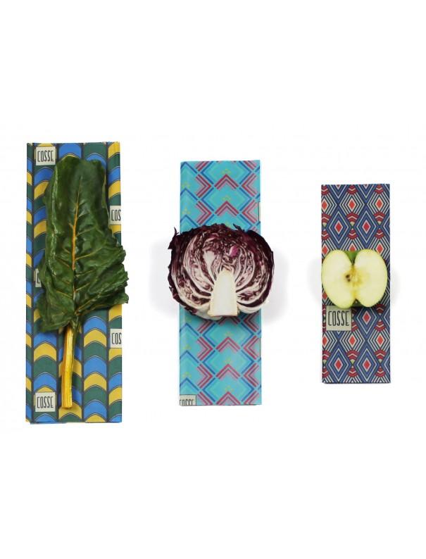 Emballage alimentaire 100% végétal -...
