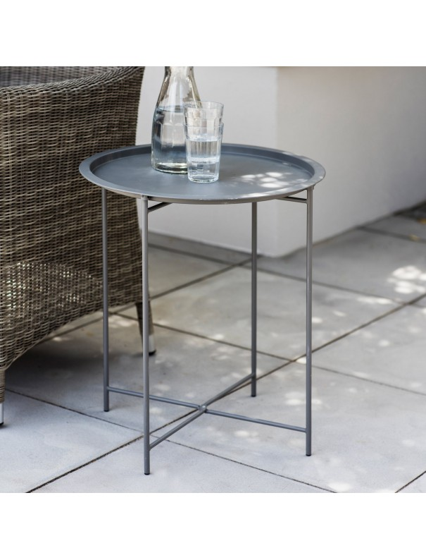 Table d'appoint - gris anthracite